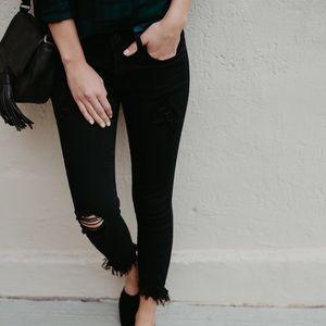 KanCan Jeans - 🆕 ➳ KanCan Black Distressed Frayed Jeans